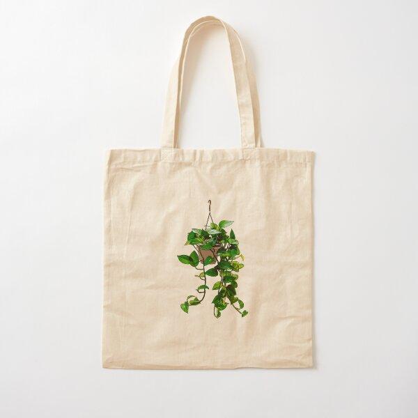 Hanging Pothos Plant Cotton Tote Bag