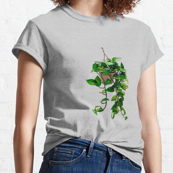 Hanging Pothos Plant Classic T-Shirt