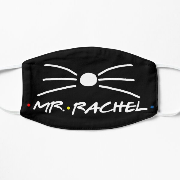 Rachel and Ross| Mr. Rachel and Mrs. Ross  Flat Mask