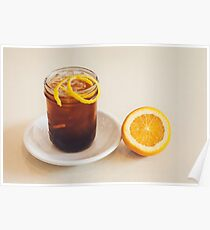 Glass of Ice Tea Poster