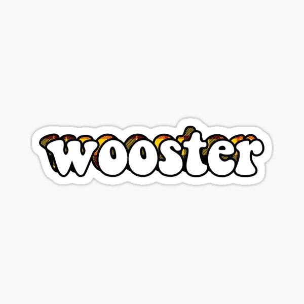 Wooster Sticker Sticker