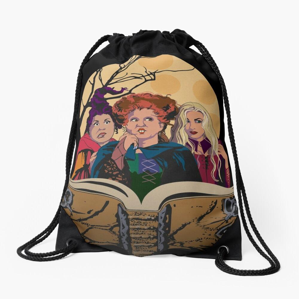 Hocus Pocus Sanderson Sisters Drawstring Bag