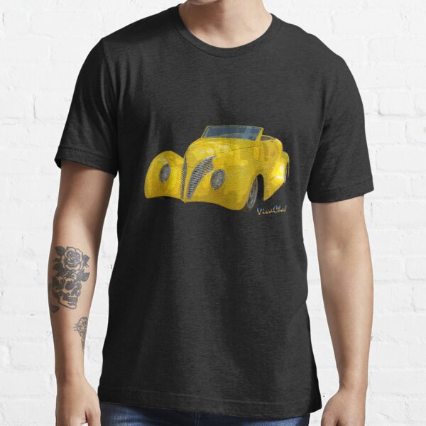 Yellow Roadster T-Shirt from VivaChas! ~:0) Essential T-Shirt
