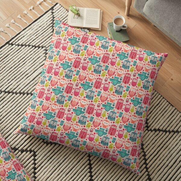 Owl Eyes Floor Pillow