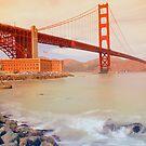 The Golden gate by Mark scott