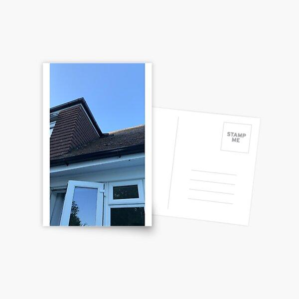 twilight roof  Postcard