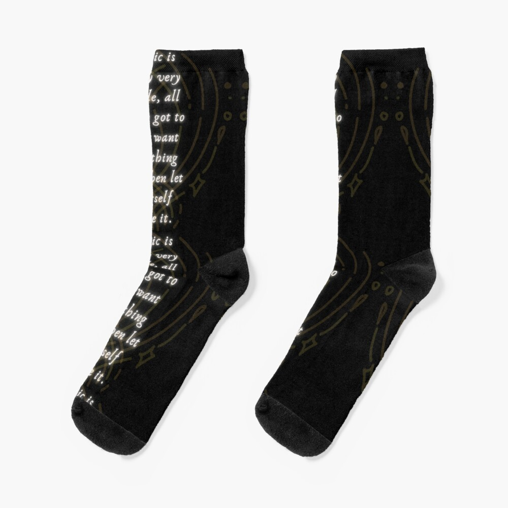 Magic is Very Simple Socks