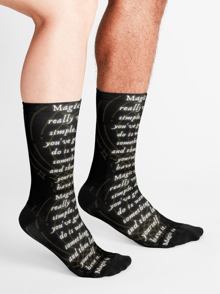 Alternate view of Magic is Very Simple Socks