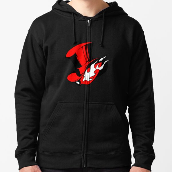 A Mask That Will Take Your Heart (Persona) Zipped Hoodie