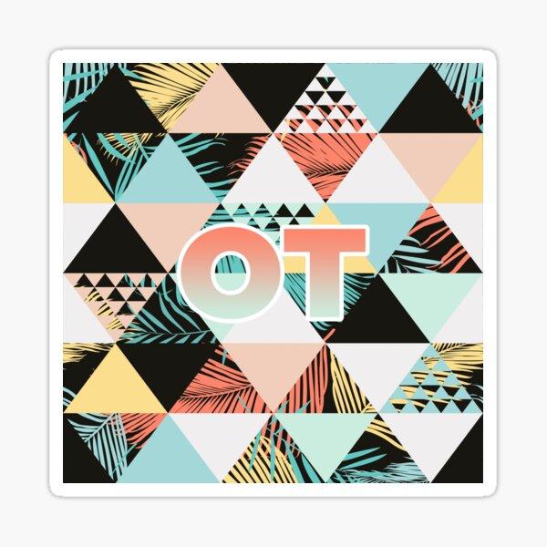 OT Summer Beach Vibes Sticker