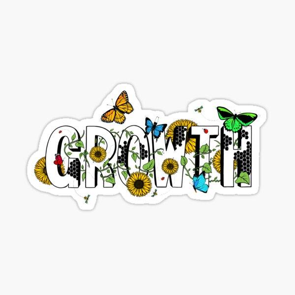 growth Sticker