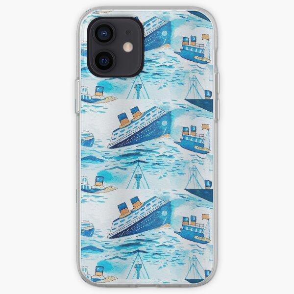 Bateaux ferry Coque souple iPhone