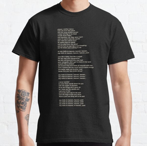 Roblox Carl Poppa Song Id Hello Song Lyrics T Shirts Redbubble