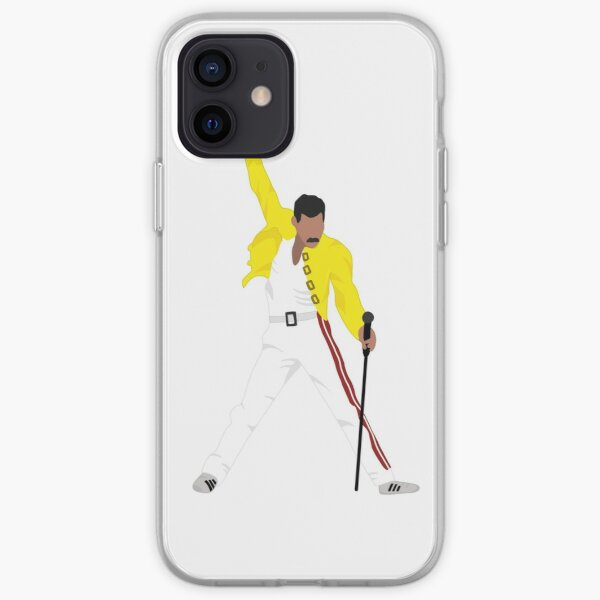 Freddie Mercury Funda blanda para iPhone
