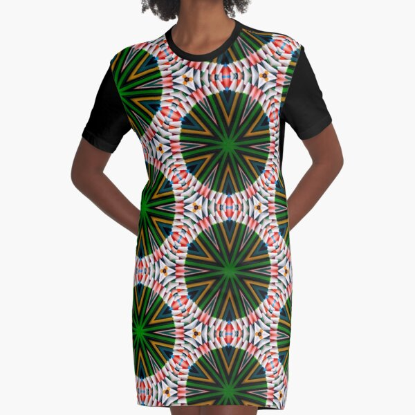 Psychedelic pencils  Graphic T-Shirt Dress