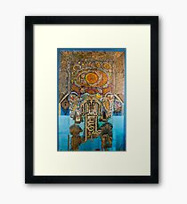 Arz-o-Samawat (The Earth and the Skies) Framed Print