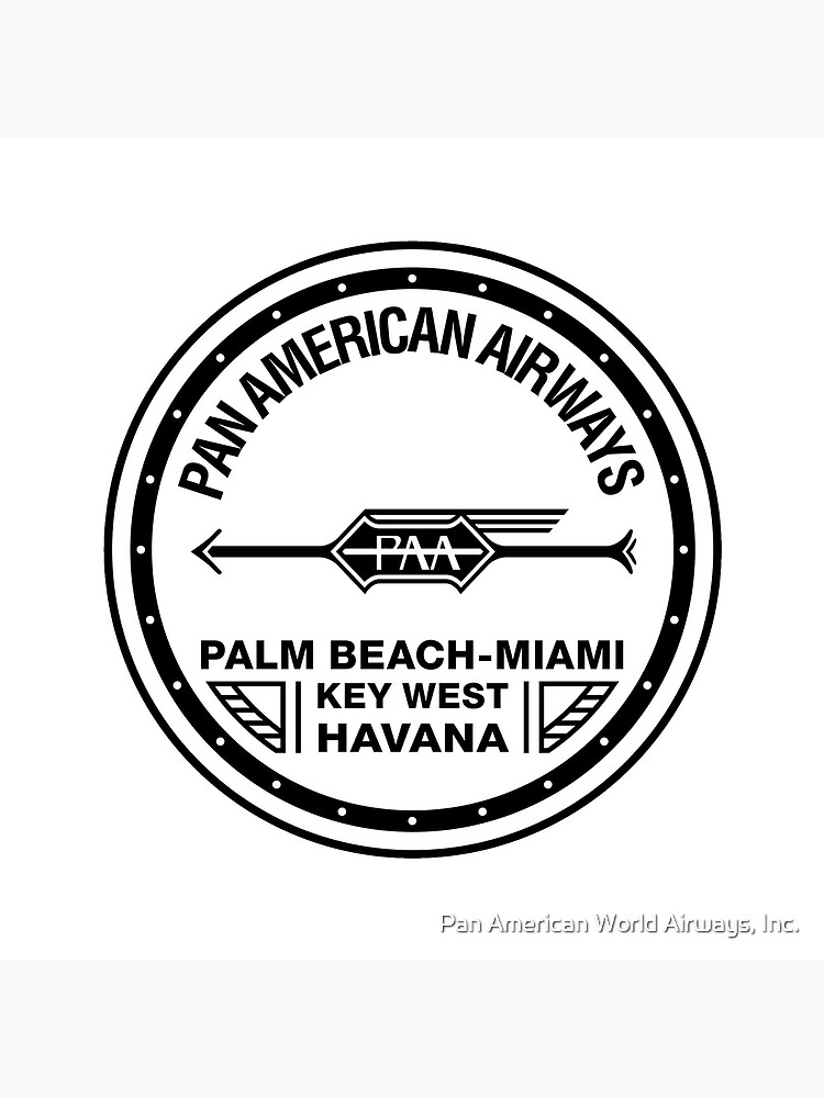 Pan Am 1920s PAA Arrow Round by panamofficial