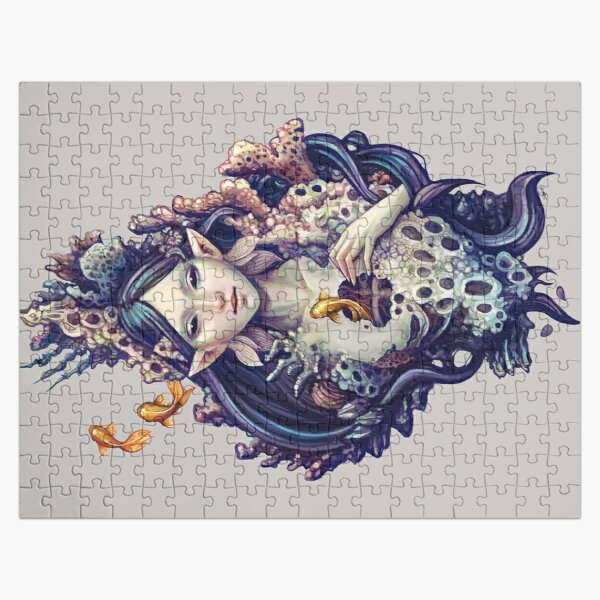 Emerge - mermaid design Jigsaw Puzzle