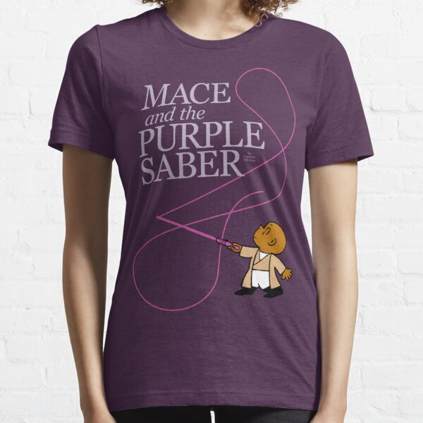 Mace and the Purple Saber Essential T-Shirt