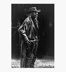 Zombie Gun Slinger Photographic Print