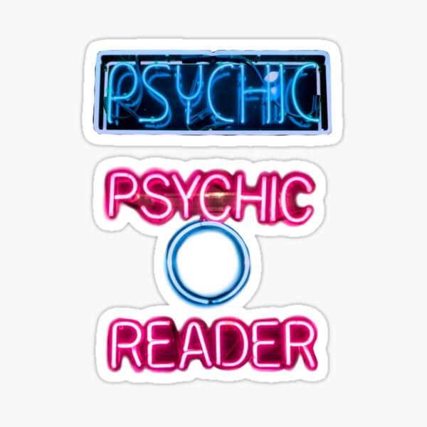 Neon Psychic Stickers Sticker