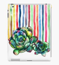 Rainbow Succulents iPad Case/Skin