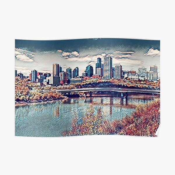 Edmonton River Valley- Alberta, Canada Poster