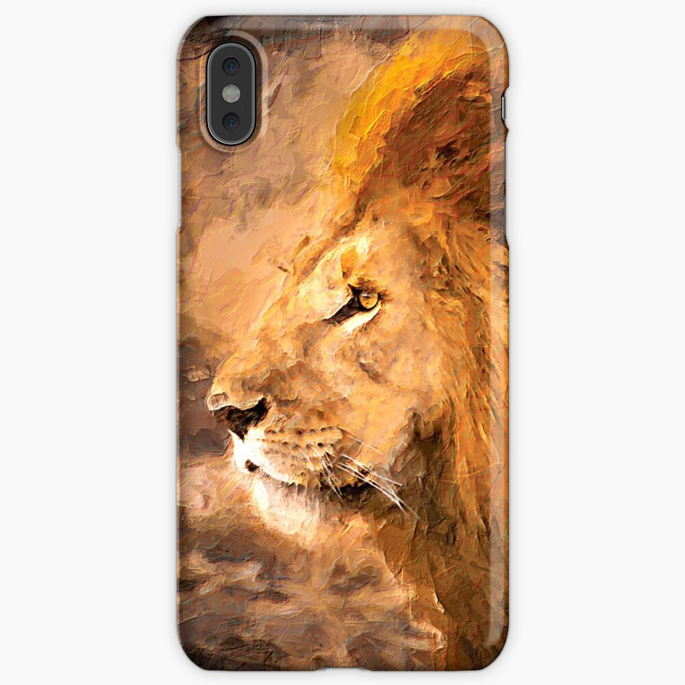 Lion King Art iPhone Case & Cover