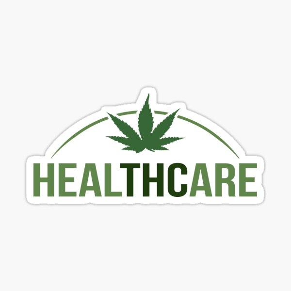Healthcare - THC Marijuana/Cannabis Sticker