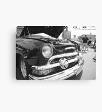 BW Car Canvas Print