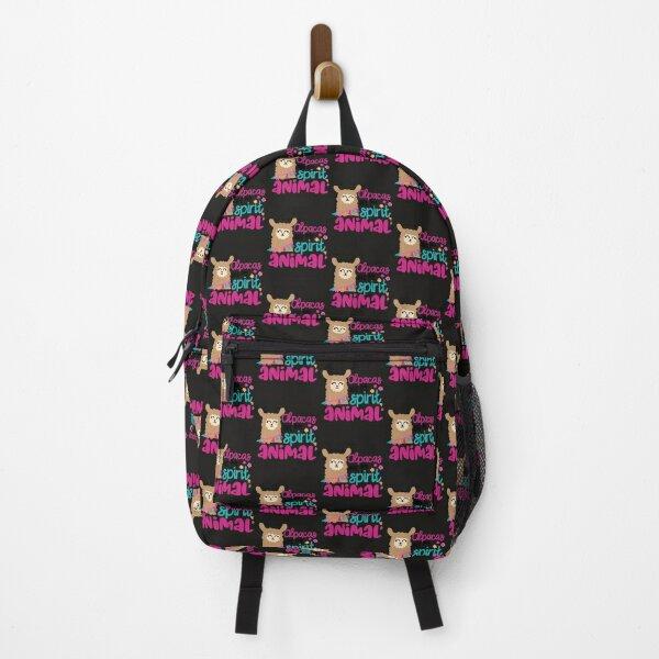 Spirit Animal Alpacas are My Spirit Animal Backpack