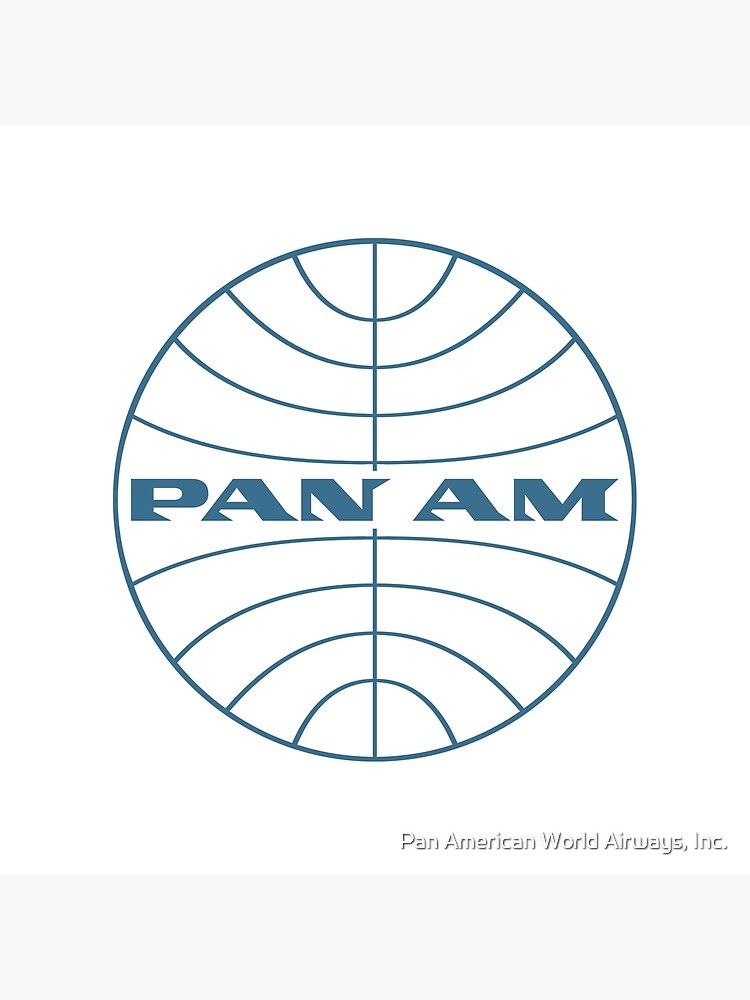 Pan Am Early 1950s Globe Thin Frame by panamofficial