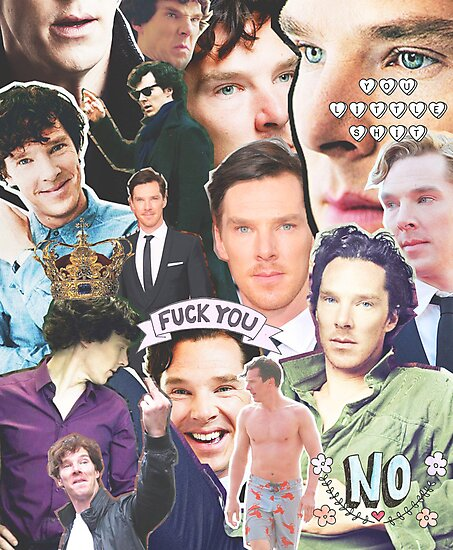 benedict collage by cocosuspenders