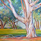 Gum Tree in the Park by Gregory Pastoll