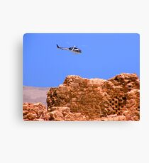 Above Masada Israel Canvas Print