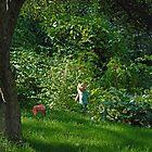 Garden Child by Robert C Richmond