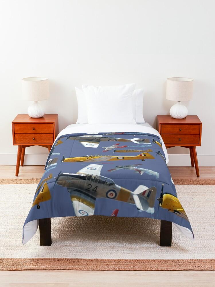 Alternate view of USA-NZ-AUS Harvards Design Comforter