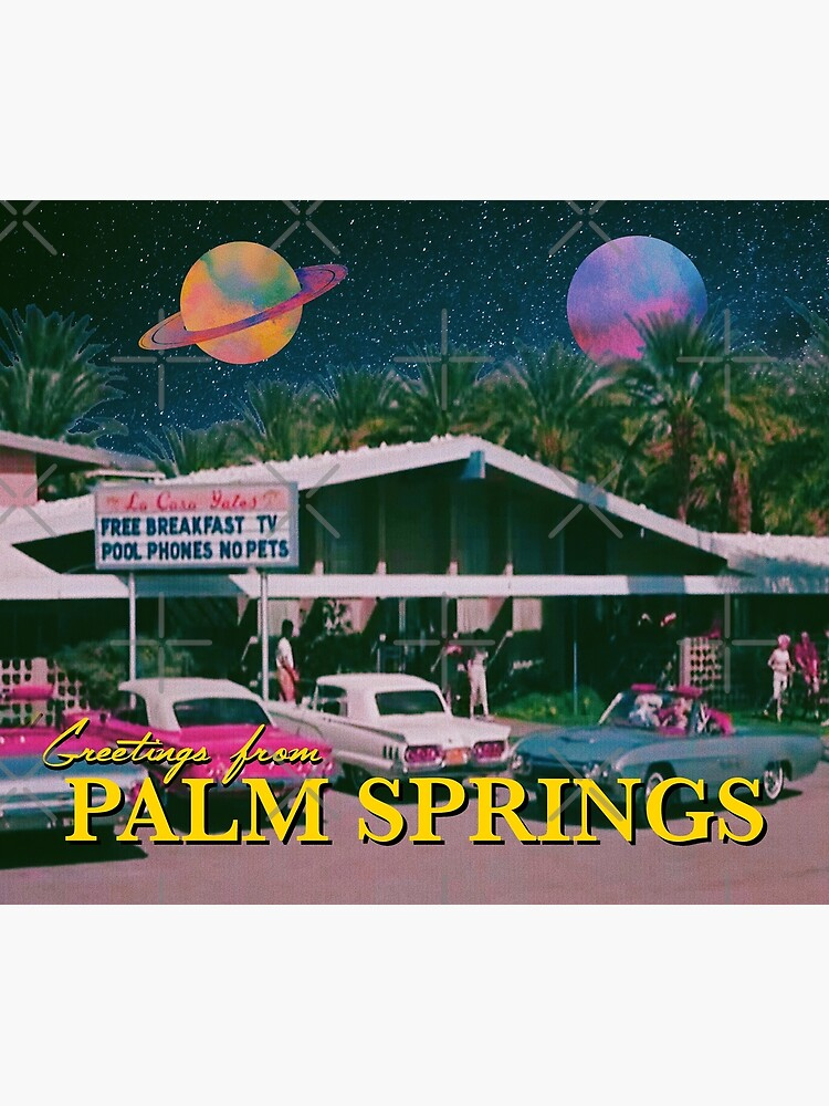 greetings from palm springs by ausketches