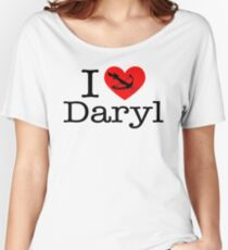 I Love Daryl Women's Relaxed Fit T-Shirt