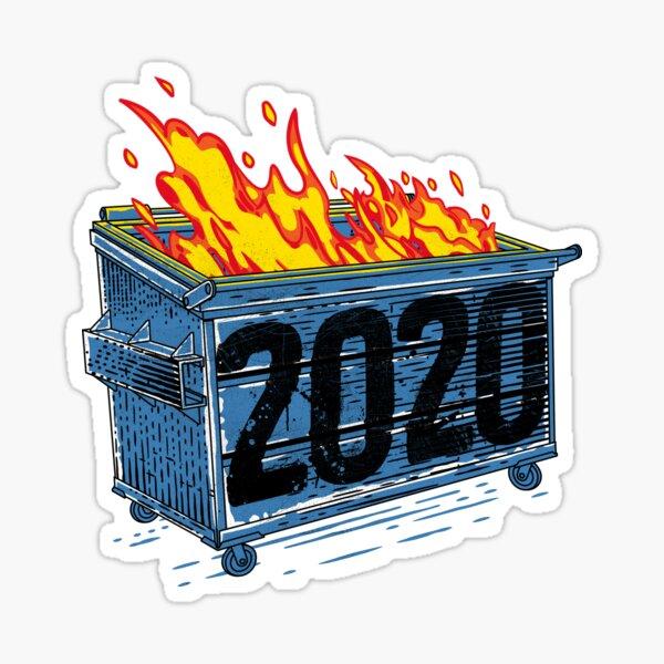 Dumpster Fire 2020 Sticker