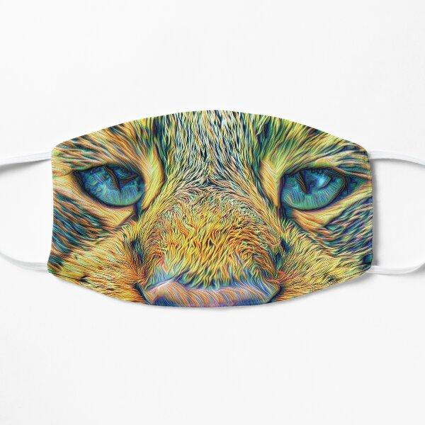 #DeepDreamed Cat Small Mask