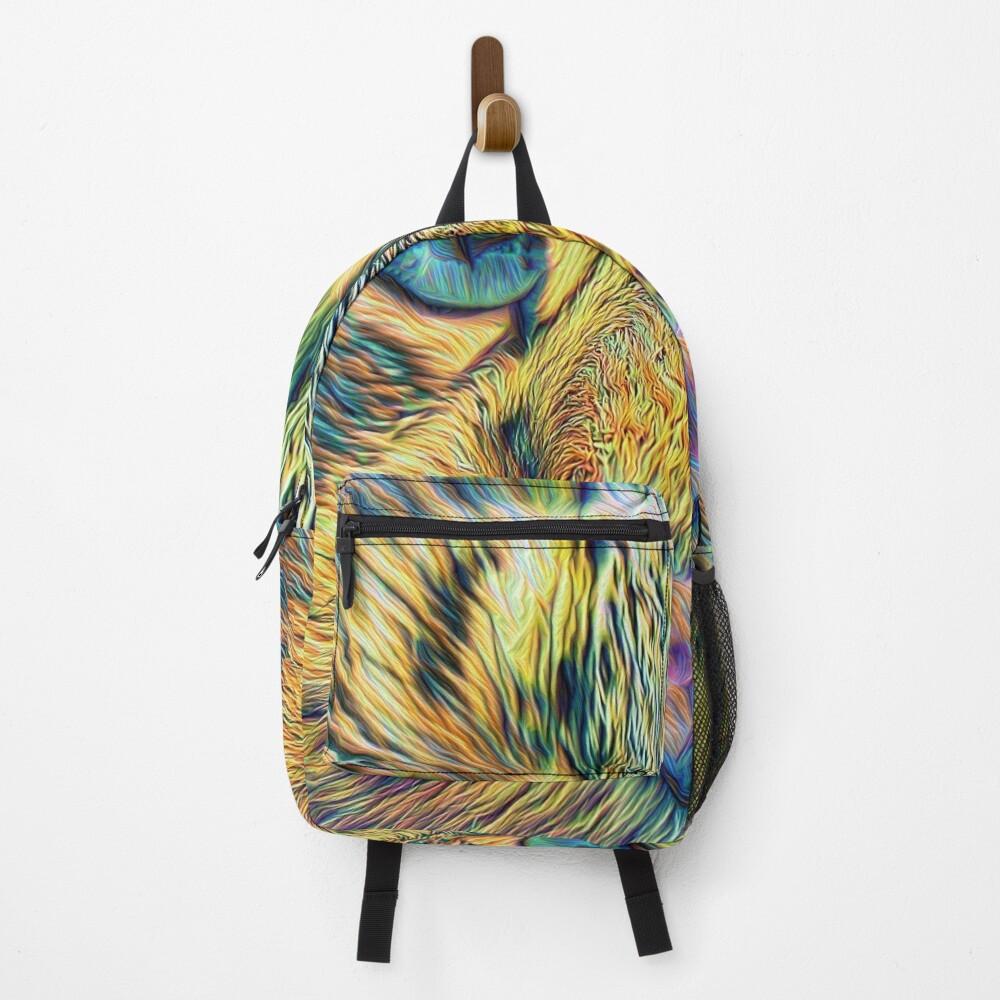 #DeepDreamed Cat Backpack