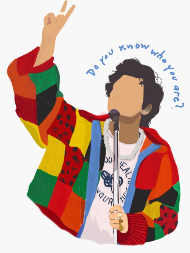 Do you know who you are? Harry Styles Art by cottonmade