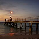 Normanville Jetty by Andrejs Jaudzems