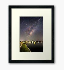 Galaxy Rise Framed Print