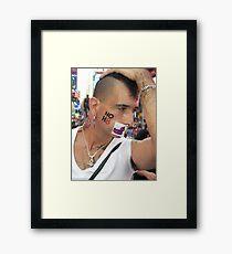 No hate! Framed Print