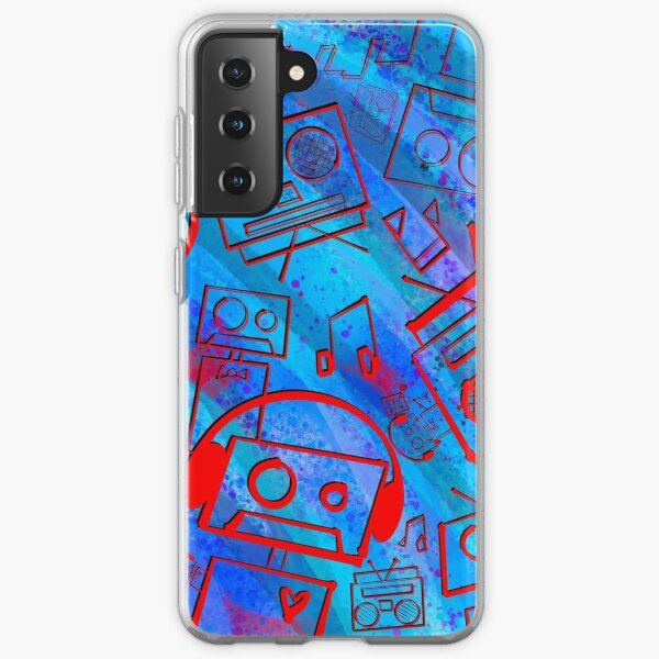 Boombots - Boombox Samsung Galaxy Soft Case