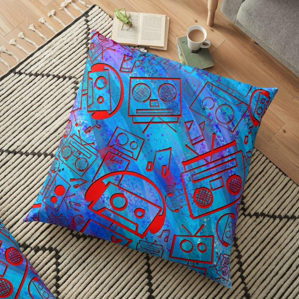 Boombots - Boombox Floor Pillow