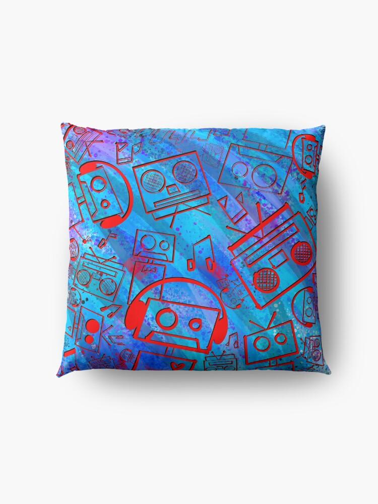 Alternate view of Boombots - Boombox Floor Pillow