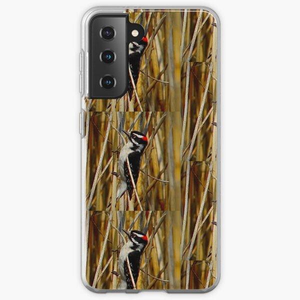 Red-headed woodpecker by Yannis Lobaina  Samsung Galaxy Soft Case